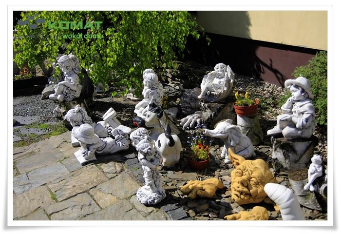 Rzeźby ogrodowe betonowe śląskie