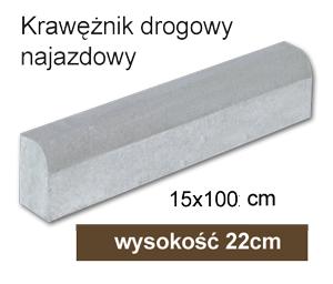krawężnik betonowy śląskie