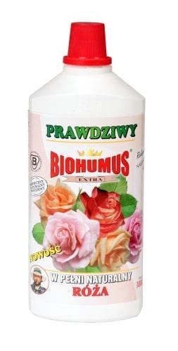 Biohumus Extra Różato naturalny nawóz dedykowany do wszystkich gatunków róż. Zapewnia intensywny wzrost krzewu, jego długie i obfite kwitnienie oraz intensywne wybarwienie liści i kwiatów. Stosowanie nawozu zapewnia prawidłowy wzrost róż, ponadto pozytywnie wpływa na kondycję krzewu, zwiększając odporność na choroby i szkodniki.Stosowanie:Przy każdorazowym zapotrzebowaniu na wodę, 3-4 nakrętki na 1 litr wody.