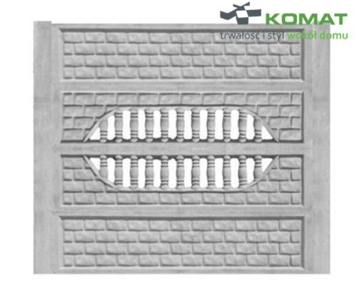 ogrodzenie betonowe wzór nr 15