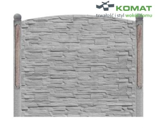 ogrodzenie betonowe wzór nr 4