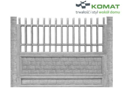 ogrodzenie betonowe wzór nr 5