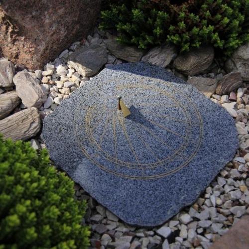 Rzeźba zegar słoneczny śląskie